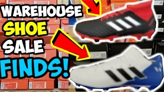 warehouse soccer shoes