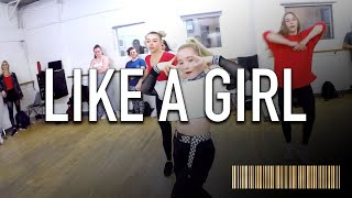 LIKE A GIRL - Lizzo | All Level Commercial Dance CHOREOGRAPHY