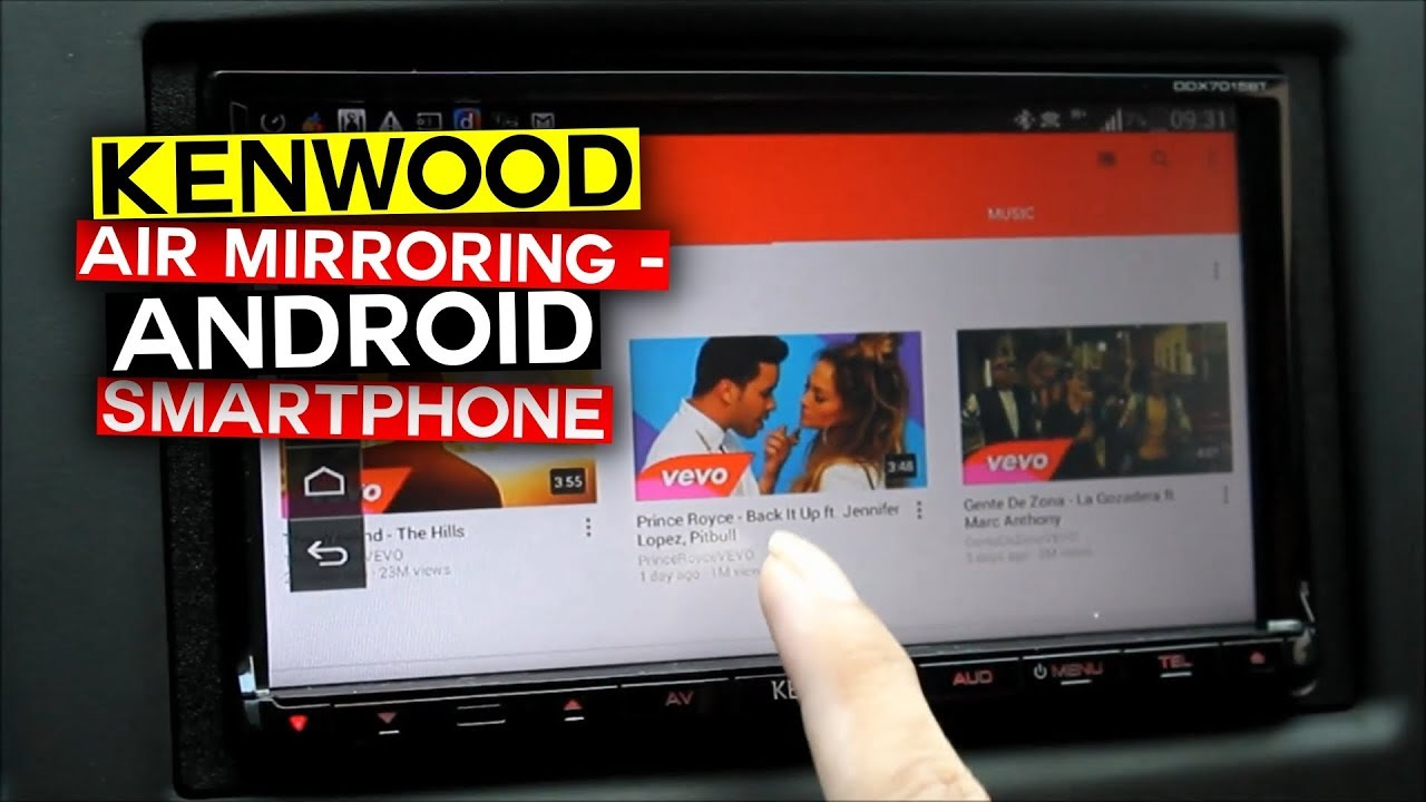 2015 Kenwood Air Mirroring - Android Smartphone