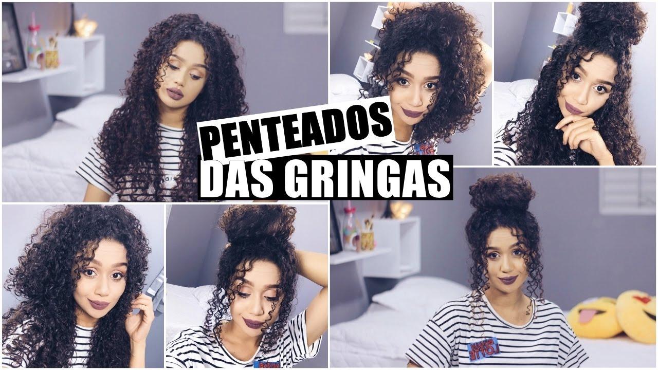 5 Penteados Fáceis Para Cabelos Cacheados Vandressa Ribeiro