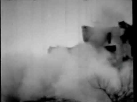 Film of the original North Dakota State Capitol burning on December 28, 1930
