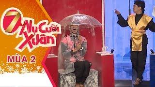 Hải Triều - BB Trần Liên Tục Ăn Bột Khi Trả Lời Quá Bá Đạo | 7 Nụ Cười Xuân Mùa 2 | Tập 8 Full HD