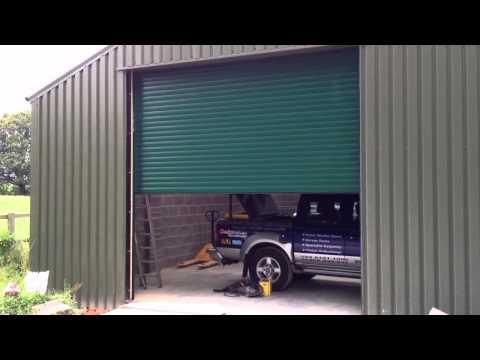 Insulated Galvanised Steel Industrial Roller Shutter Door Southampton, Hampshire