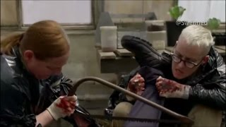 OITNB - Alex,Lolly and Frieda Cutting the guard