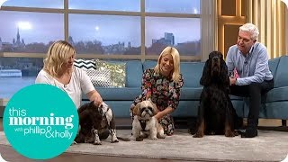 Phillip & Holly Have a Go at Doggie Massages | This Morning
