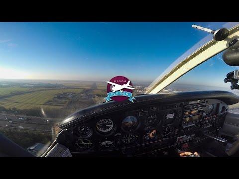 PA28 - Blackpool To Gloucestershire | ATC Audio