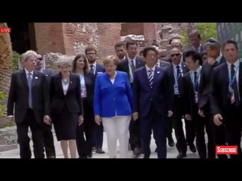 WATCH: President Donald Trump Tours G7 Summit 2017 in Taormina, Sicily, Italy, Taormina Summit