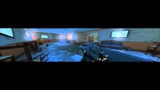 Fear 3 Eyefinity 3840x1050, all settings on-high, walkthrough 17 HD