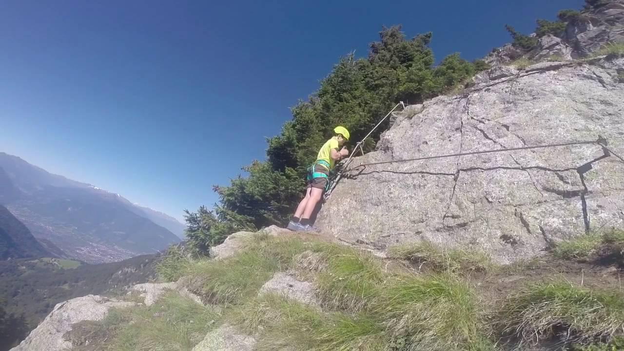 Klettersteig Meran : Heini holzer klettersteig auf den ifinger youtube