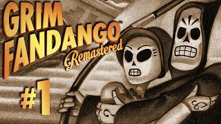 Grim Fandango Remastered Gameplay #1 - Let
