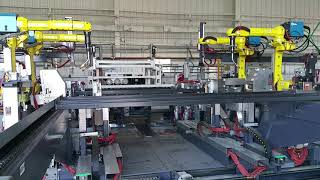 Crazy Extreme Industrial machines in USA. How industrial racks are made. induction and robot welding