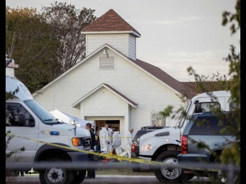 "Breaking: ""Texas Church Massacre Shooting Caught On (Raw Video)"