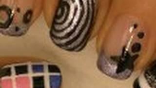 *Bigbang* Korean Pop Inspired Nail Art / Arte para las uñas grupo de pop Coreano