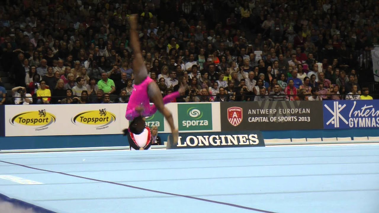 Simone Biles Floor World Championships Event Finals Day
