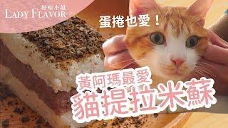 【好味貓廚房】EP80 - 貓提拉米蘇|蛋捲從頭吃到尾耶! thumbnail