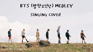 [SINGING COVER] BTS (방탄소년단)- MEDLEY 13 SONGS | J. EUYSIEE