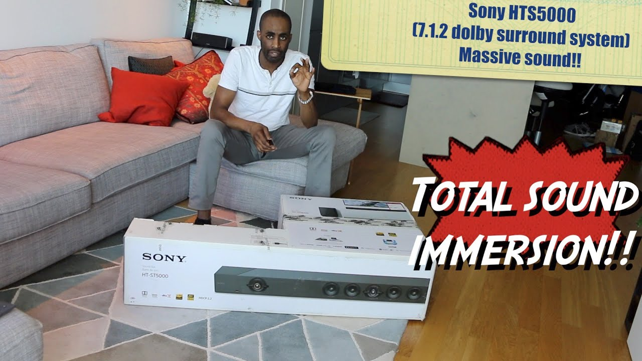 First thoughts on SONY HTS5000 7.1.2 THE Perfect Dolby Surround  Unbox & Review- HERVEs WORLD-Ep 294
