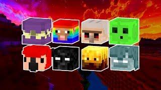Nowe Głowy Mobów w Minecraft 1.14! Jak zdobyć! [Poradnik]