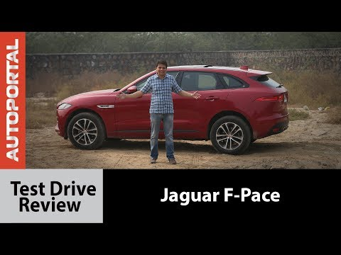 Jaguar F-Pace Test Drive Review - Autoportal