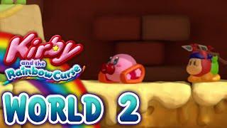 Kirby and the Rainbow Curse: World 2 (4-Player)