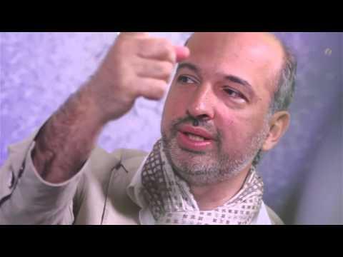 In Russian ARTIST AMIR SHAYESTEH TABAR Interview By KAZAKHSTAN TV