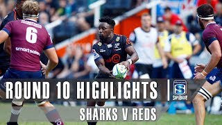 ROUND 10 HIGHLIGHTS: Sharks v Reds – 2019