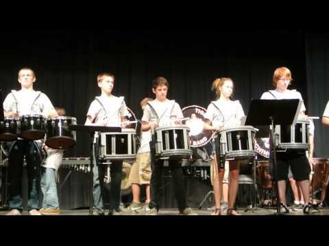 Tunkhannock High School Percussion 2013