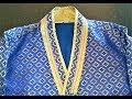 How to sew high neck kurta
