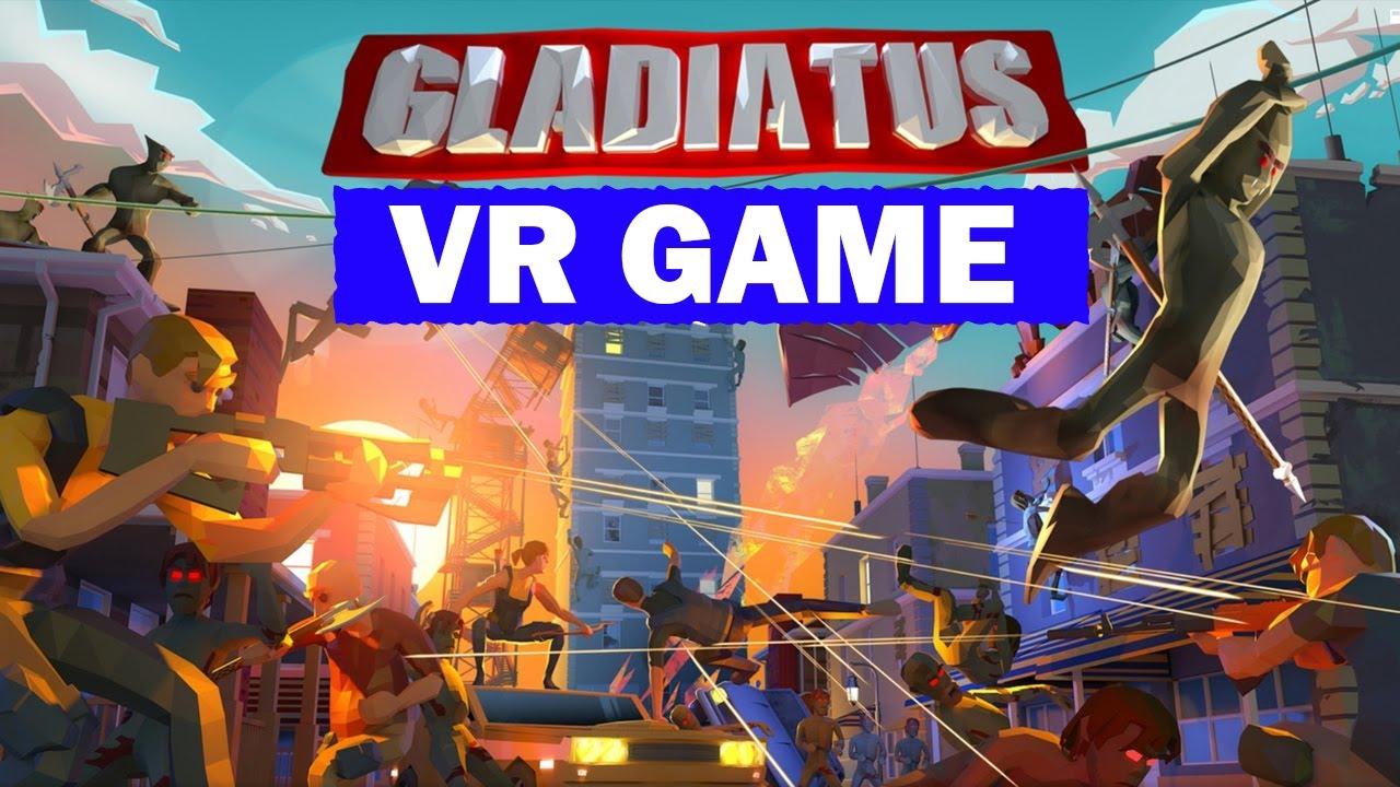 Oculus Quest 2 VR Game Gladiatus VR Trailer (+Giveway)