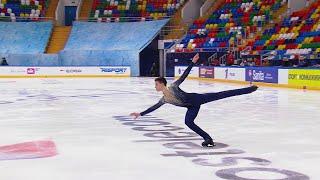 Петр Гуменник Короткая программа Кубок России по фигурному катанию 2020 21 Пятый этап