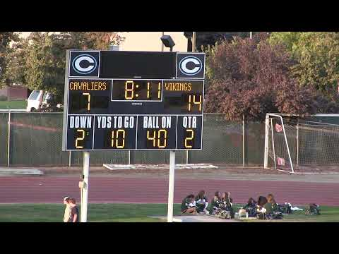 Central Valley Christian Football vs Kingsburg - Homecoming