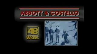 abbott and costello wkbs 48 wphl 17 intro outro from 1982