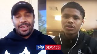 Shakur Stevenson on headlining the first MAJOR boxing show in months | With Andre Ward
