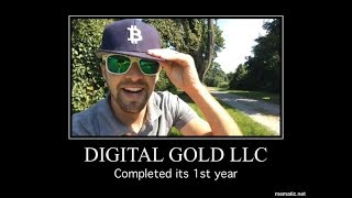 Digital Gold Celebrates 1 year