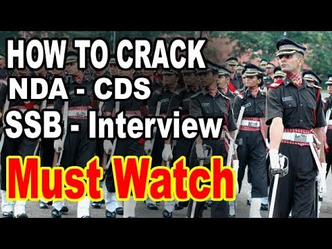 How to Crack NDA -CDS SSB-Interview-part-2  Complete Information