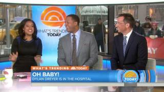It's Baby Time! See Dylan Dreyer, Husband Brian Smiling on Their Way To The Hospital
