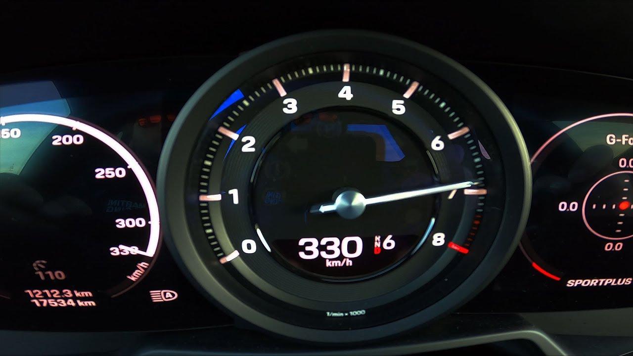 Beschleunigung Porsche 911