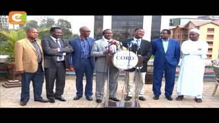 CORD  says it will resume anti-IEBC demos on Mondays and Thursdays
