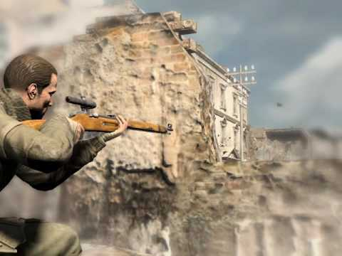 Sniper Elite v2 Schonenberg streets kill tally attempt #1