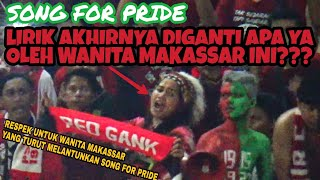 Terekam Kamera | Wanita Makassar Ini Menyanyikan Song For Pride Tapi Di Akhir Liriknya Diganti