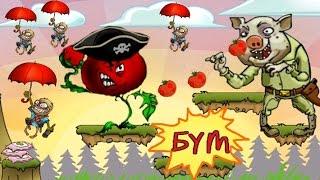 Мультик игра для детей про зомби - Растения против Зомби [2]