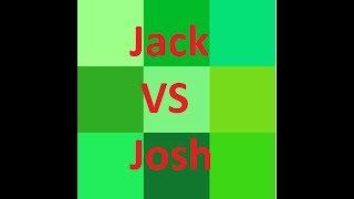 Practice Run Of The Flick The Hat Game - Jack VS Josh
