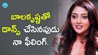 Dancing With Balakrishna Was So Amazing - Actress Natasha Doshi | #JaiSimha || Talking Movies
