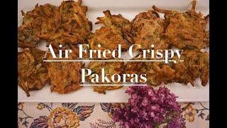 Air Fried Crispy Pakora | Vegetarian Fritter Recipe | Ninja Foodi