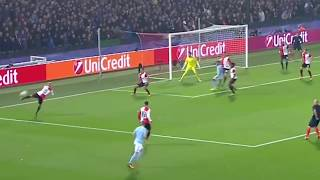 Feyenoord 0-1 Manchester City   Лига чемпионов УЕФА