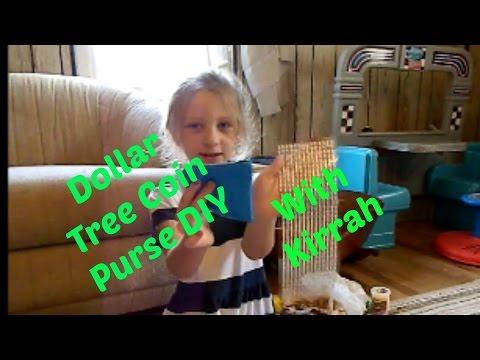 DIY Dollar Tree Coin Purse With Kirrah