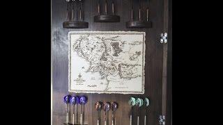 """the Hobbit"" Dartboard Cabinet"