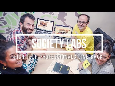 Israeli High-Tech Professionals Support Social Change Through Volunteering