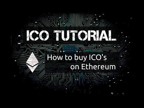 Cryptocurrency - ICO එකකින් Token මිලදී ගන්නා අකාරය.