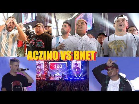 ACZINO vs BNET - INCREIBLE SEMIFINAL (FINAL INTERNACIONAL ARGENTINA) con JONY BELTRAN, INVERT